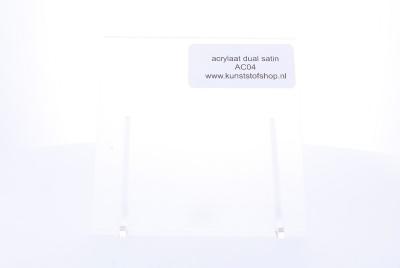 acrylaat plaat transparant mat/mat AC04