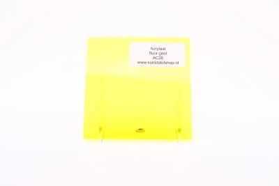 acrylaat plaat fluor geel AC28