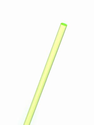 acrylaat rond staf fluor groen 1000x4mm