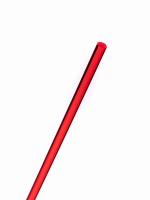 acrylaat rond staf fluor rood 1000x15mm