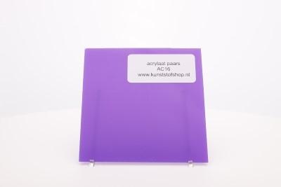 acrylaat plaat  paars AC16