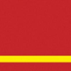 Graveerplaat rood-geel 1220x610x1,6mm
