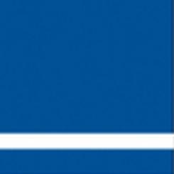 graveerplaat blauw-wit 610x610x1,6mm