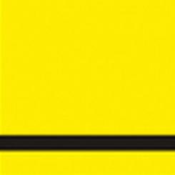 graveerplaat geel-zwart 610x610x1,6mm