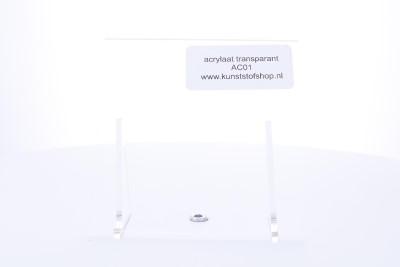 acrylaat plaat transparant xt 4,0 mm