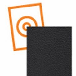 kydex plaat zwart met nerf 1000 x 600 x 2 mm