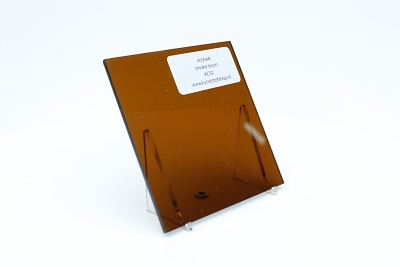 acrylaat plaat plaat smoke/rookbruin
