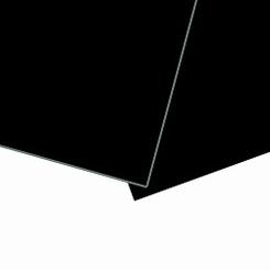PP foamplaat met ps schuim kern zwart mat