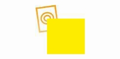zacht pvc geel dikte 0,35 mm p/mtr