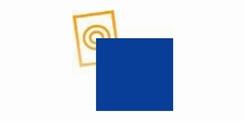 zacht pvc blauw dikte 0,35 mm p/mtr