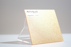 acrylaat plaat metallic goud transparant AC9002