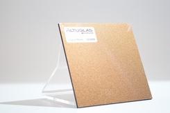 acrylaat plaat metallic copper brown  AC9008