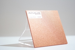 acrylaat plaat metallic copper   AC9007