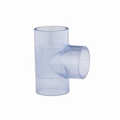 PVC transparant T stuk