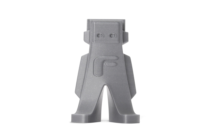 3D Print Filament form futuraPLA zilvergrijs-metallic look