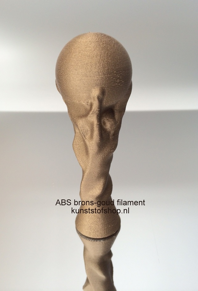 3D Print Filament XS 2Design ABS brons-goud
