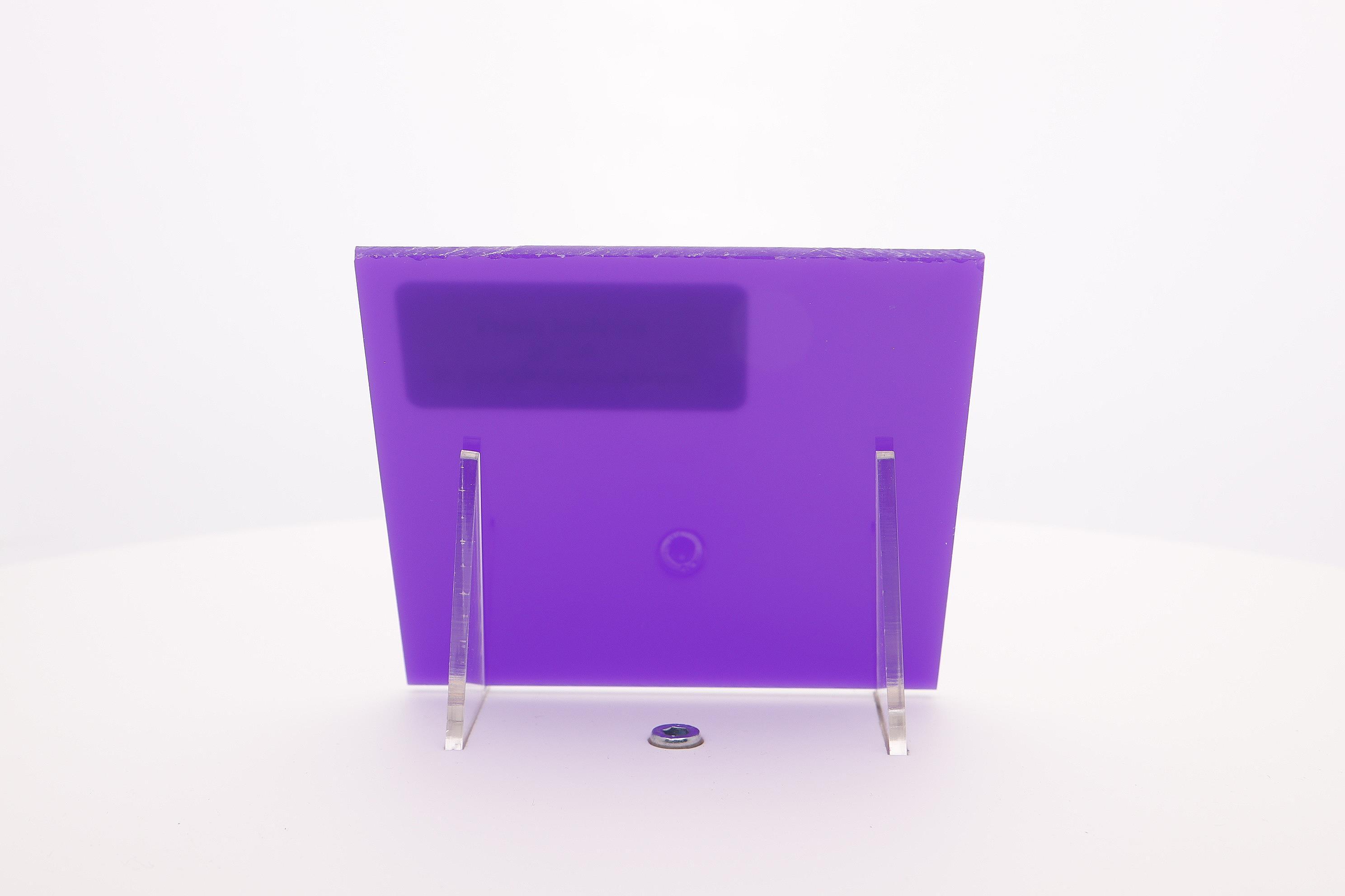 acrylaat plaat  paars AC 16