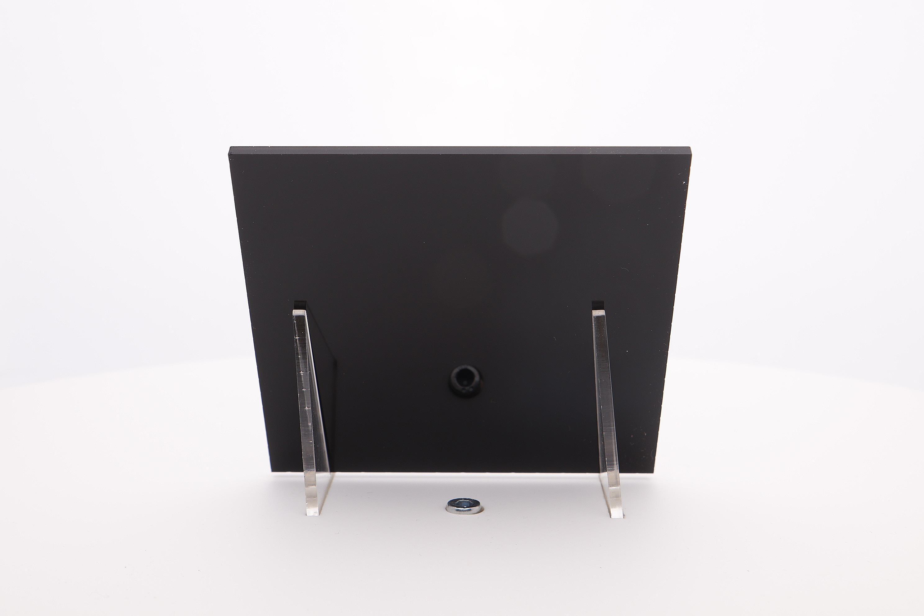 acrylaat plaat AC52  zwart mat/glans