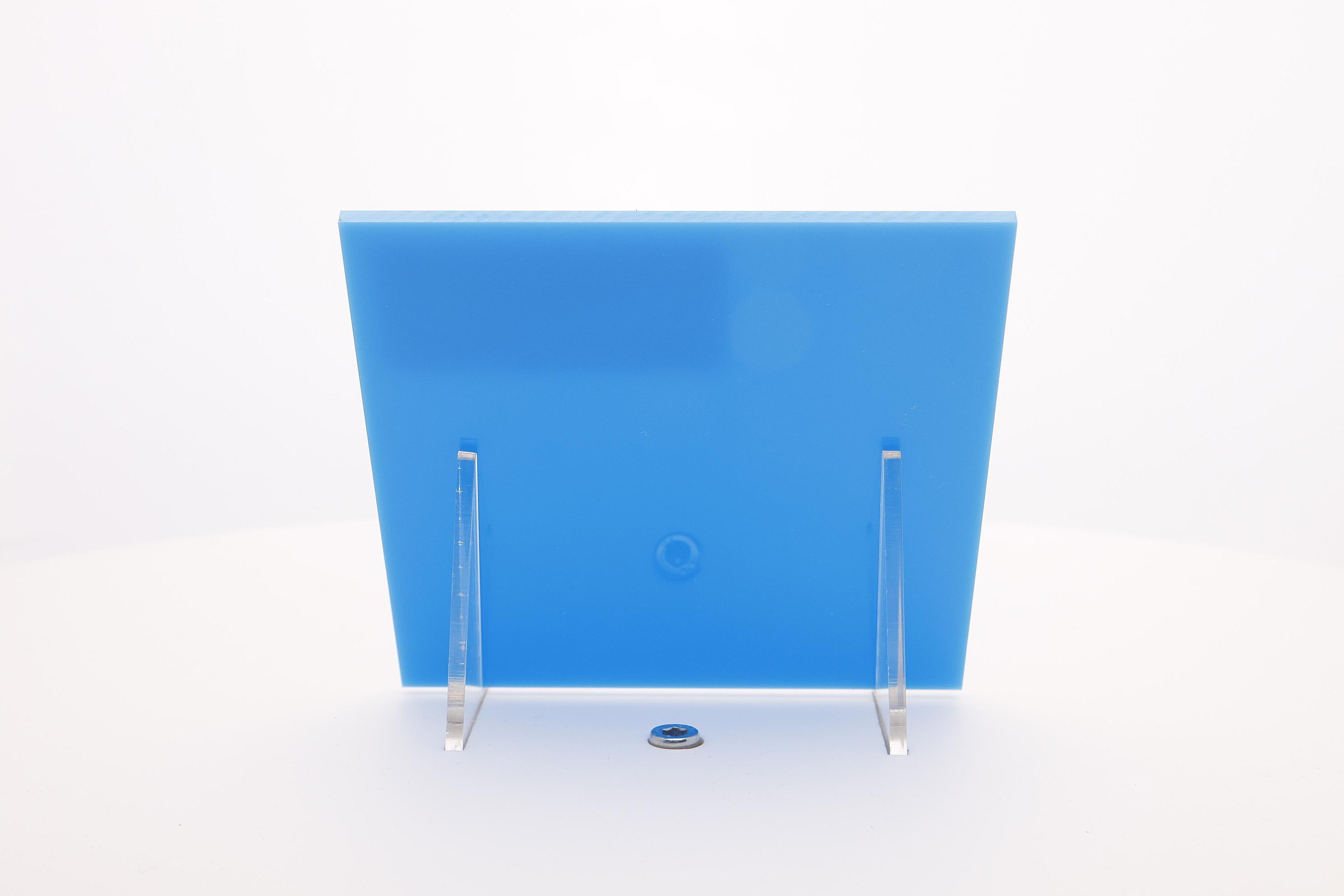 acrylaat plaat blauw AC12