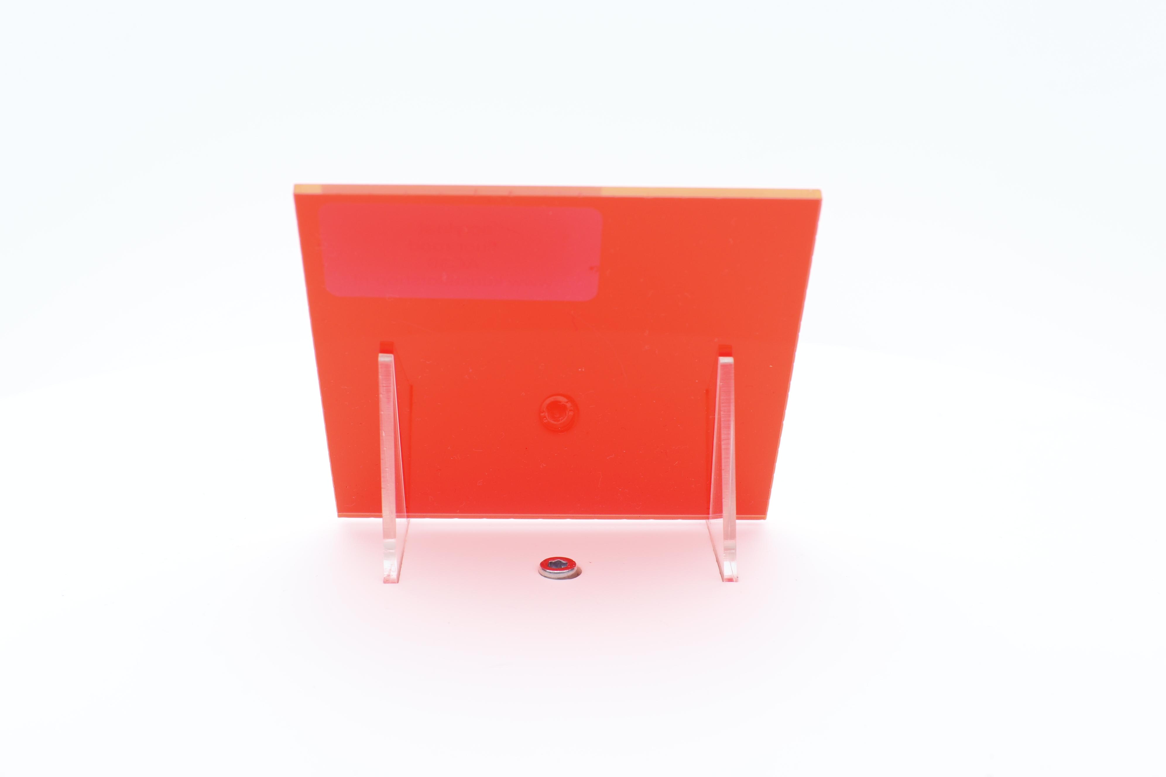 acrylaat plaat fluor rood AC30