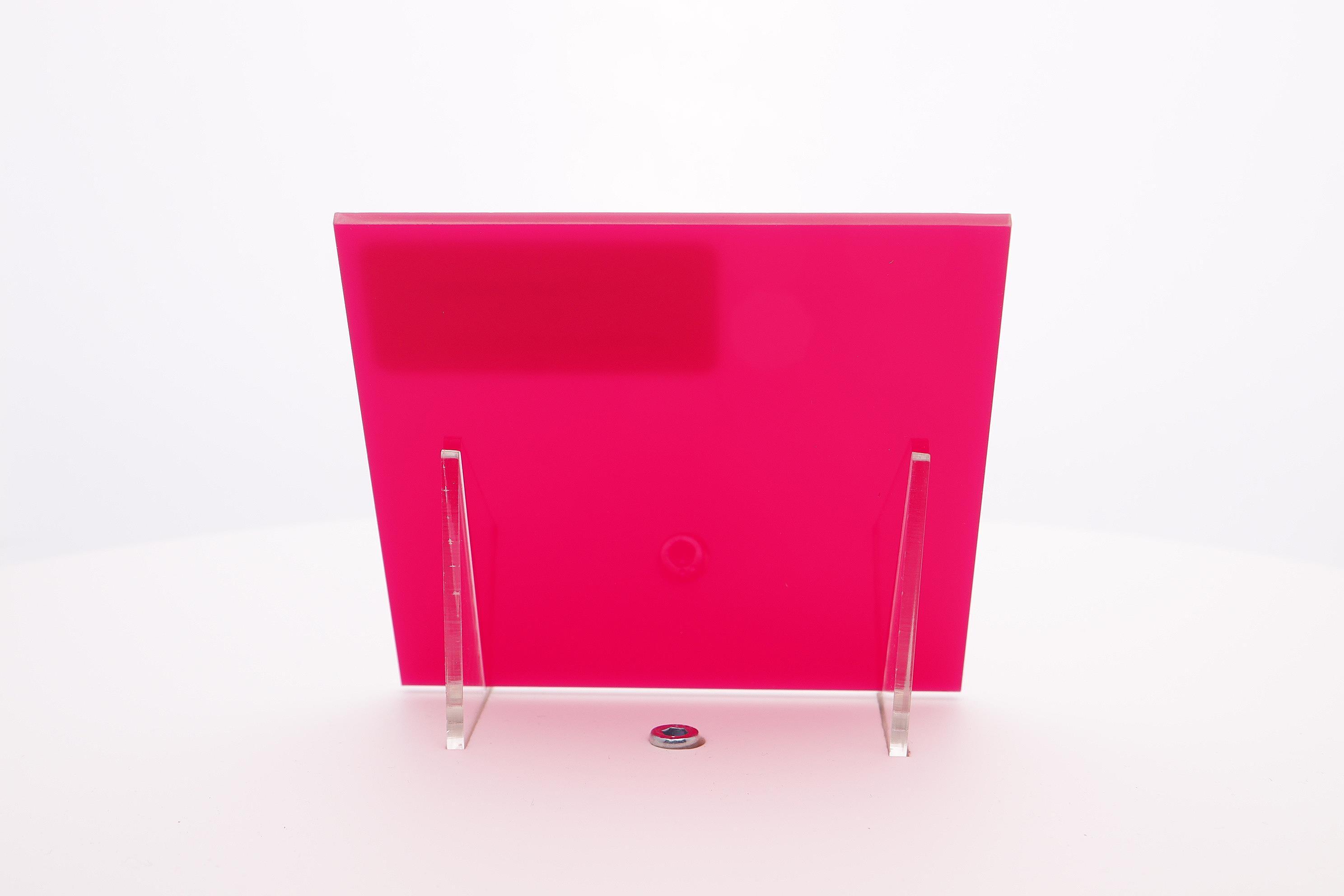 Acrylaat plaat fuschia rood/roze AC17