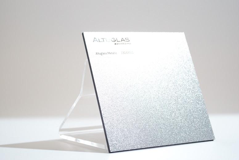 acrylaat plaat metallic zilver AC9010