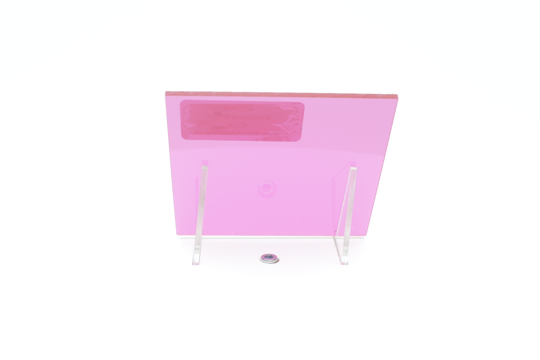 Acrylaat plaat transparant roze AC26