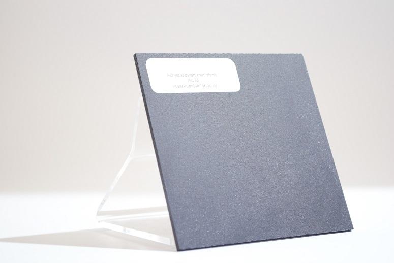 acrylaat plaat zwart AC52 mat/glans
