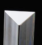 acrylaat transparant driehoek staf 1000x8x8x8mm