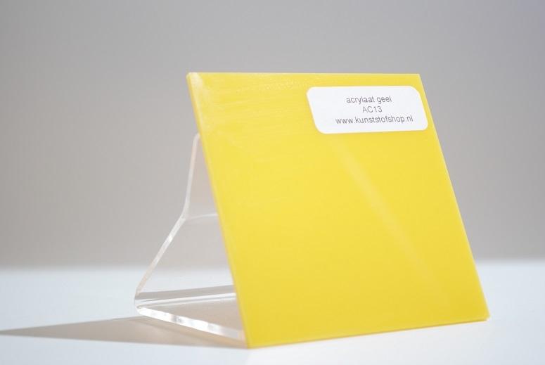 Monster acrylaat geel AC13