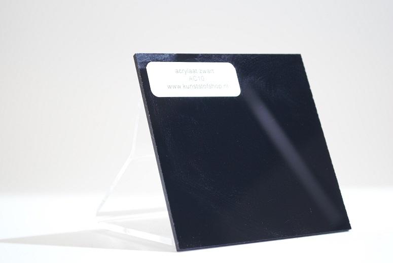 Monster acrylaat zwart AC10