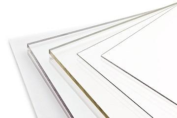 Polycarbonaat plaat transparant  4,0 mm