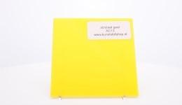 acrylaat plaat geel AC13