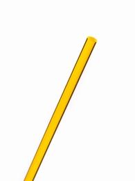 acrylaat rond staf fluor geel 1000x6mm