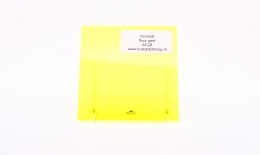 acrylaat plaat fluor geel AC 28