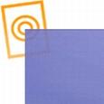 zacht pvc kobalt blauw transparant-mat 0,50mm