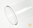 Acrylaat deksel voor buis D:100/3 mm