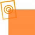zacht pvc oranje transparant 0,15mm
