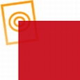 pvc folie transparant donker rood