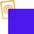 PVC folie transparant donker blauw E079