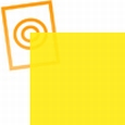 pvc folie transparant geel