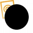 pvc rond staf zwart