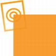 zacht pvc oranje  0,35mm