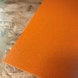 Solanyl bioplastic plaat oranje