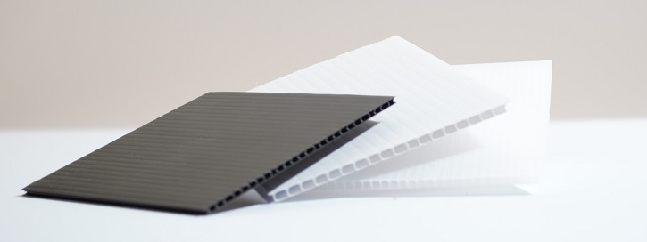 Transparant, wit of zwart